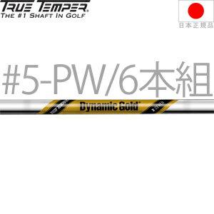 #5-W・6本セット★ トゥルーテンパー ダイナミックゴールド X7 スチール アイアンシャフト (True Temper Dynamic Gold X7) スチール アイアンシャフト (9.0mm テーパーチップ)【ゴルフ】
