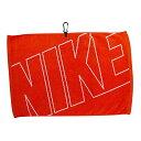 """【特価品】カラビナ付 ナイキ ジャガード タオル オレンジ 約40×61cm (Nike Golf 16"""" X 24"""" Jacquard Towel) N88511 【200円ゆうパケ.."""