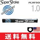 【ゆうメール配送】 スーパーストローク オデッセイ ホワイト ホット フラッツォ1.0 (Super Stroke Odyssey White Hot) パター グリップ ST0083 【ゴルフ】