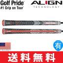 【ゆうメール配送10本セット】【2017年モデル】 ゴルフプライド マルチコンパウンド プラス4 アライン (Golf Pride MCC PLUS4 ALIGN) ウッド&アイアン用グリップ GP0123 M4XS-GY 【ゴルフ】
