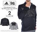 アディダス 長袖メンズウェア CLIMAHEAT プライム キルト フルジップ 長袖ジャケット 大きいサイズ