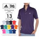 アディダス ゴルフ メンズウェア パフォーマンス 半袖ポロシャツ 大きいサイズ USA直輸入