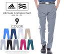 アディダス ゴルフパンツ メンズ パンツ メンズウェア アルティメット 3ストライプ パンツ 大きいサイズ