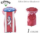 キャロウェイ ヘッドカバー ゴルフヘッドカバー メンズ  XR16 ドライバー ヘッドカバー
