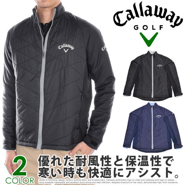 キャロウェイCallaway長袖メンズゴルフウエアパフォーマンスキルト長袖ジャケット大きいサイズUS