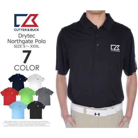(在庫処分)カッター&バック Cutter&Buck ゴルフ メンズウェア DRYTEC ノースゲート 半袖ポロシャツ 大きいサイズ USA直輸入 あす楽対応