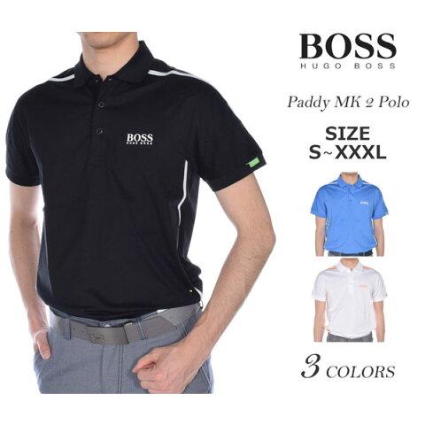 ヒューゴボス HUGO BOSS ゴルフウェア メンズウェア ゴルフ  パディ MK 2 半袖ポロシャツ 大きいサイズ USA直輸入 あす楽対応