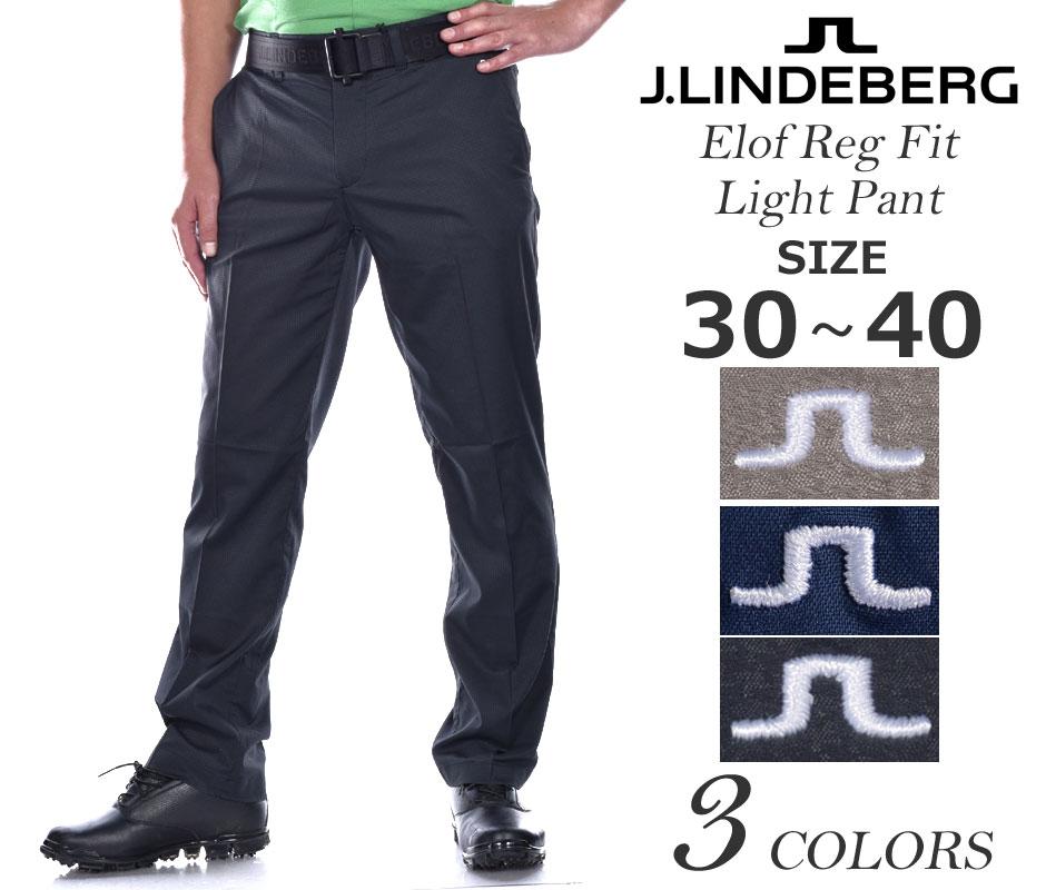 Jリンドバーグ ゴルフパンツ メンズ ボトム エロフ レギュラー フィット ライト パンツ 大きいサイズ