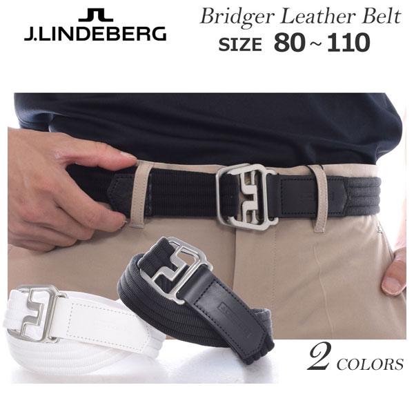 (在庫処分)JリンドバーグJLINDEBERGベルトゴルフベルトメンズゴルフウェアアドラーストライプ