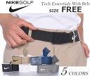 ナイキ ベルト ゴルフベルト メンズ ゴルフウェア テック エッセンシャル ウェブ ベルト 大きいサイズ USA直輸入