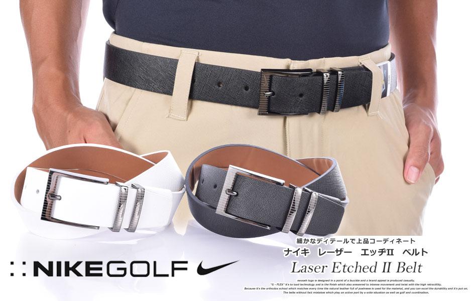 (在庫処分商品)ナイキ ベルト ゴルフベルト メンズ ゴルフウェア レーザー エッヂII ベルト