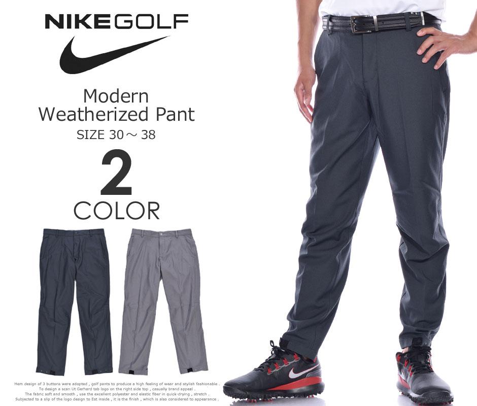 ナイキ ゴルフパンツ メンズ  パンツ ボトム メンズウェア モダン ウェザライズド パンツ 大きいサイズ