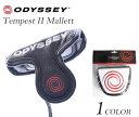 オデッセイ ODYSSEY ヘッドカバー ゴルフヘッドカバー メンズ  テンペストII マレット パターカバー