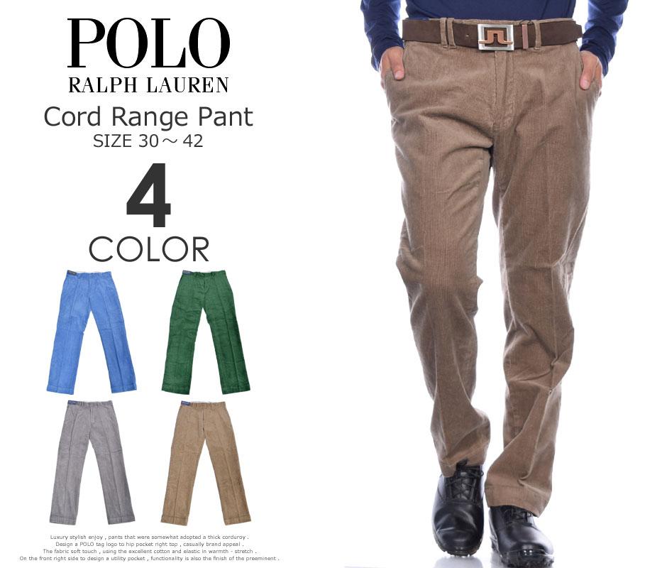 ポロゴルフ ラルフローレン ゴルフパンツ メンズ パンツ ボトム コーデュロイ レンジ パンツ 大きいサイズ