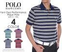 ポロゴルフ ラルフローレン ヤーンダイ パフォーマンス ピケ 半袖ポロシャツ 大きいサイズ USA直輸入