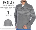 (楽天スーパーSALE)ポロゴルフ ラルフローレン 長袖メンズウエア RLX フェアアイル モックネック 長袖セーター 大きいサイズ02P03Dec16