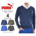 (冬特選★バーゲン)プーマ Puma ゴルフウェア メンズ 秋冬ウェア 長袖メンズウェア ゴルフ V...