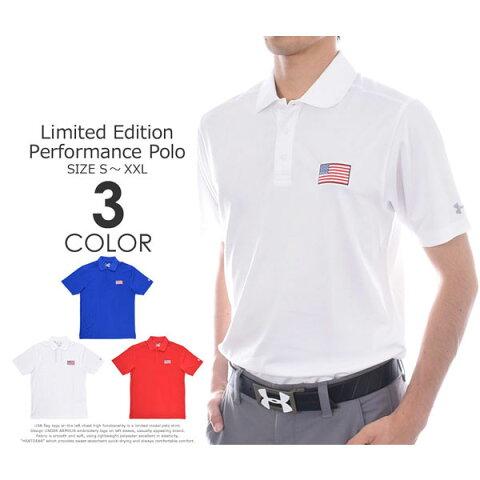 (冬★在庫処分)アンダーアーマー UNDER ARMOUR 厳選モデル パフォーマンス 半袖ポロシャツ 大きいサイズ USA直輸入 あす楽対応