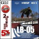 楽天GOLGODA15-16 DVD snow LB-05 カリフォルニアスタイル VESP スノーボード SNOWBOARD パーク PARK ジブ JIB