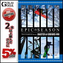 15-16 DVD snow EPIC SEASON Master of Ground 08 T6M HOW TO ジャンプ ジブ グラトリ SNOWBOARD...