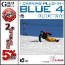 15-16 DVD snow BLUE 4 carving plug-in アルパインボードのフリーライディングムービー カービング SNOWBOARD スノー...