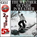 16-17 DVD snow THINK THANK The Weather Outside is Weather SNOWBOARD スノーボード