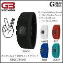 ウォッチ DEUCE BRAND デュースブランド G3 カラフルなシリコンのブレスバンドにデジタル時計を組み込んだオシャレな 防水腕時計