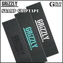 【FINALSALE】 デッキテープ GRIZZLY STAMP GRIPTAPE (vigrg2,4,2bk) グリップテープ スケートボード deckgrip あす楽