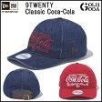 【NEWERA】ニューエラ 9TWENTY Classic Coca-Cola/920■コカコーラ/スナップバック サイズ調節可能なレザーストラップ付き
