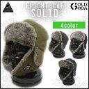 FLIGHT CAP SOLID 防寒 耳あて付 帽子 飛行機帽 BELLWOOD MADE MFG CO./ベルウッドメイド