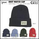 16-17 ビーニー YOBEAT KNIT WATCH CAP ニット帽 スノーボード スノボ スノボー snowboard ヨービート