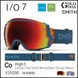 16-17モデル ゴーグル SMITH I/O7 HIGH 5 / RED SOL X MIRROR アイオーセブン スミス JAPAN FIT アジアンフィット 国内正規品 スノーボード スキー メンズ レディース   10P01Oct16