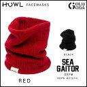 ハウル 17-18モデル HOWL SEA GAITOR シーゲーター スノーボード フェイスマスク ネックウォーマー マスク