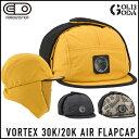 16-17モデル AIRBLASTER VORTEX 30k/20k Airflap Cap エアーブラスター スノーボードハット 帽子