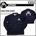コーチジャケット CRAB GRAB COACH CRAB JACKET クラブグラブ ナイロンジャケット デッキパッド スノーボード【FINAL_AP】