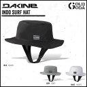 サーフハット DAKINE INDO SURF HAT AH231-914 サーフィン用帽子 サーフキャップ サーフィン マリンスポーツ 紫外線対策 日焼け対策 あす楽