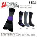 2足で送料無料 ソックス DEELUXE Thermo Socks Five 5本指 スノーボード用メンズ レディース靴下 10P03Dec16