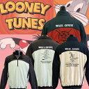 ルーニー・テューンズ ジップアップウィンドシャツ 袖脱着 LT-7701