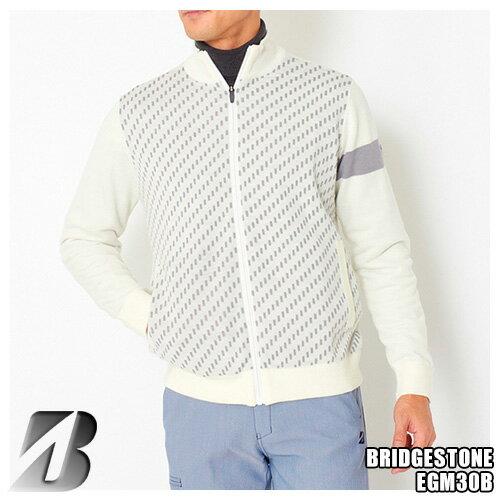 ブリヂストンゴルフメンズフルジップセーター+3℃アイテムEGM30B