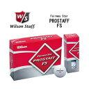 【大処分】Wilson ウィルソン PROSTAFF プロスタッフFSゴルフボール 12球