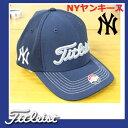 【USモデル】タイトリスト ニューヨークヤンキース ダブルネームキャップ MLB TH5FMLB-YANKS