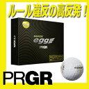 【ルール違反】【高反発ボール】プロギア 金エッグゴルフボール  金egg 1ダース[12球入り]