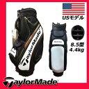 【USモデル】 テーラーメイド ゴルフ ツアー B1196501 カート キャディバッグ ブラック×ホワイト×レッド