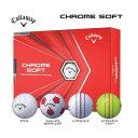キャロウェイゴルフ クロムソフト 2020 メンズ ゴルフボール 1ダース [12球入り] [日本正規品]