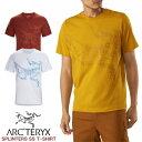 ショッピングプリンター アークテリクス ARC'TEXYX SPLINTERS T-SHIRT SS MEN'S スプリンターズ ショートスリーブ Tシャツ メンズ 25237