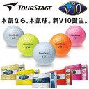 TOURSTAGE ツアーステージ 2012モデル V10 ゴルフボール 1ダース 12球