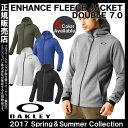 【あす楽対応】【送料無料】 流行のフリース 日本正規品 OAKLEY オークリー Enhance Fleece Jacket.Double 7.0 フリースジャケット 461540JP