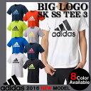 【あす楽対応】 半袖 Tシャツ アディダス ビッグロゴ トレーニング ランニング カジュアル Tシャツ