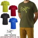 男性用 Tシャツ アークテリクス ARC'TERYX ARCHAEOPTERYX SS T-SHIRT アーキオプテリクス Tシャツ メンズ クルーネック 19025