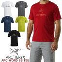 男性用 Tシャツ アークテリクス ARC'TERYX ARC'WORD SS T-SHIRT アークワード Tシャツ メンズ クルーネック 22447